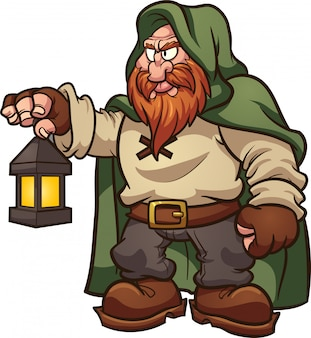 Cartoon dwarf
