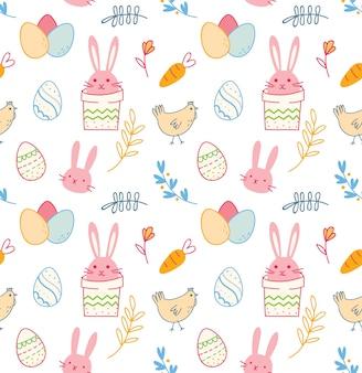 계란 만화 부활절 완벽 한 배경