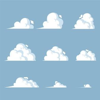 Fotogrammi di animazione elemento del fumetto