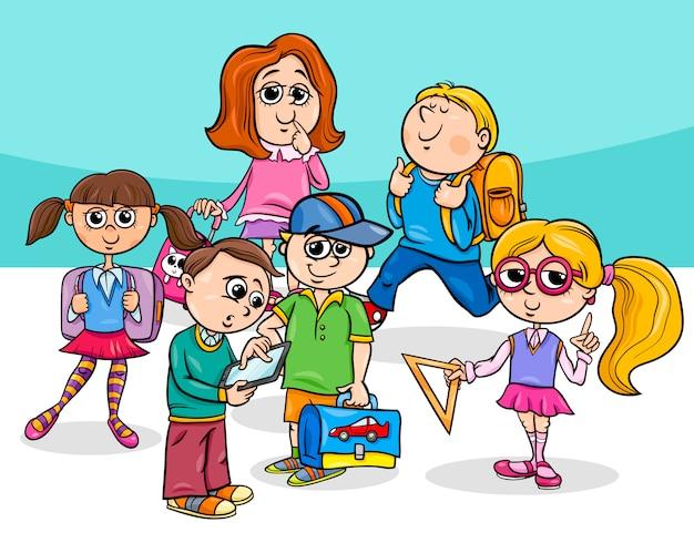 만화 초등학생 그룹