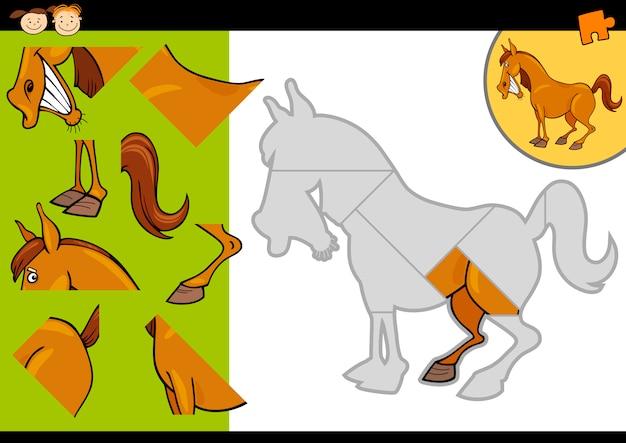 만화 농장 말 퍼즐 게임