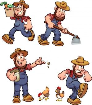 Мультфильм фермер