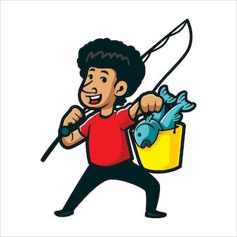 Мастер мультфильма рыбалки