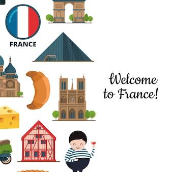 Мультфильм франция элементы