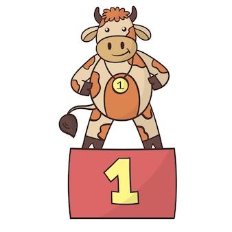 漫画面白い雄牛の勝者