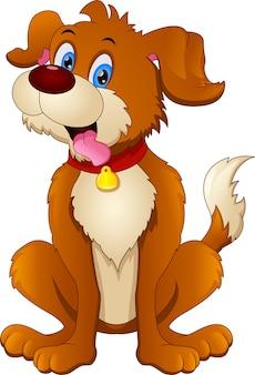 Cartoon funny dog
