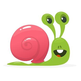 만화 재미 달팽이 그림