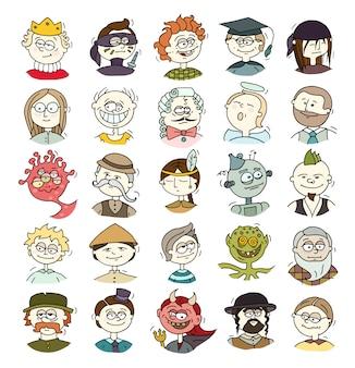 만화 재미있는 사용자 아바타