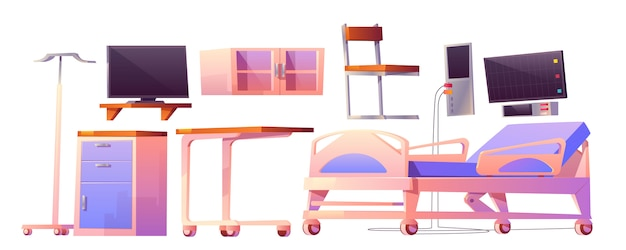 Cartoon furniture for hospital ward