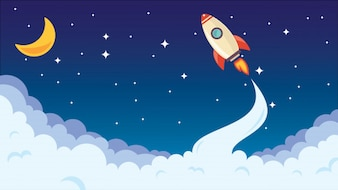 Rocket Silhouette Vectors, Photos and PSD files | Free ... | 338 x 190 jpeg 18kB