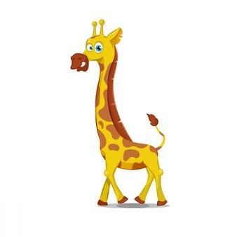 Cartoon giraffe illustration