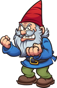 Cartoon gnome