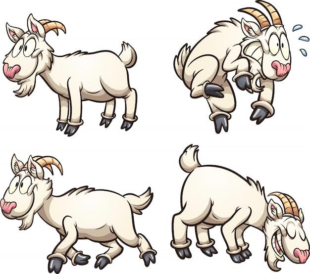 Мультфильм коза
