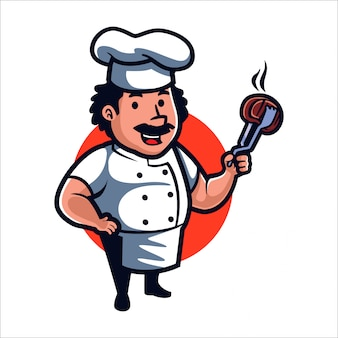 Cartoon good meat