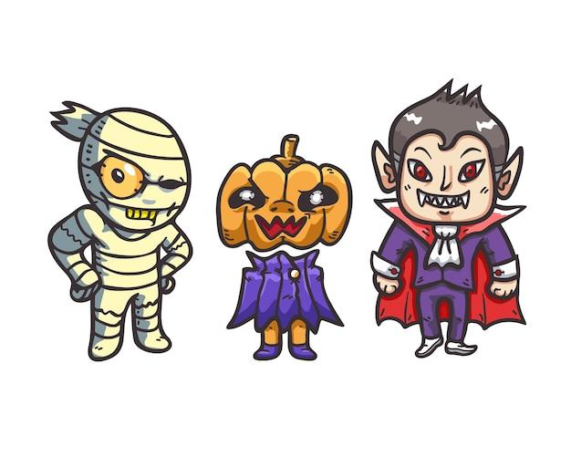 Cartoon halloween character