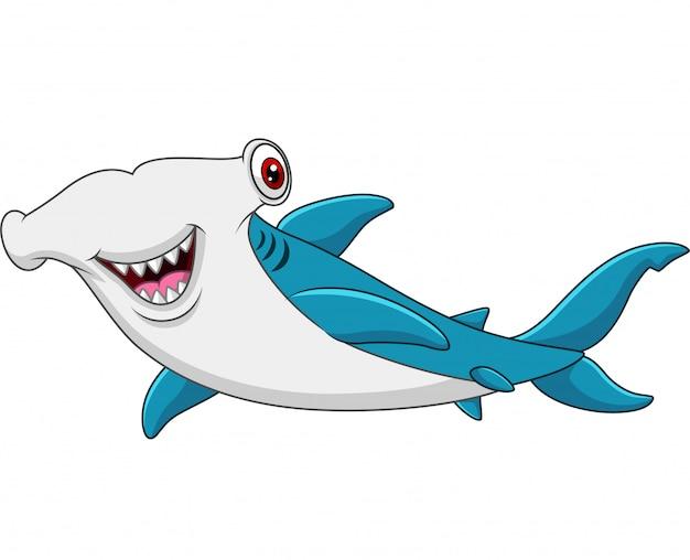 Мультфильм акула-молот