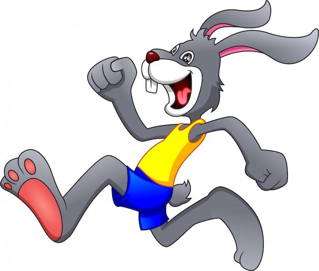 漫画幸せなウサギの実行