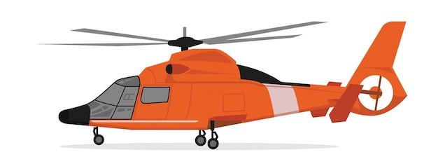 Cartoon of helicopter