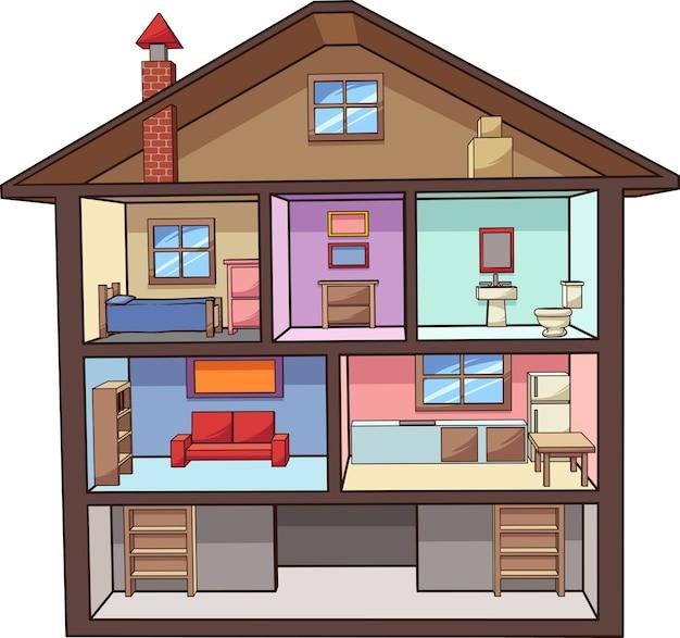 Мультяшный дом