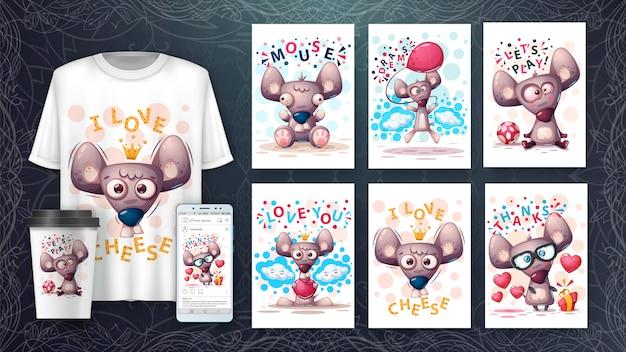 Cartoon illustration illustration and merchandising