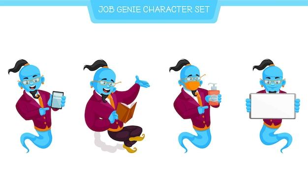 ジョブ魔神キャラクターセットの漫画イラスト