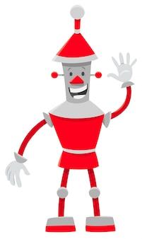 로봇 판타지 캐릭터의 만화 그림