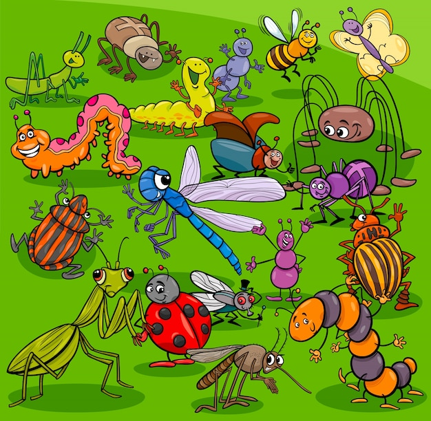 Группа животных животных мультфильмов