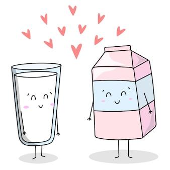 만화 귀엽다 음료