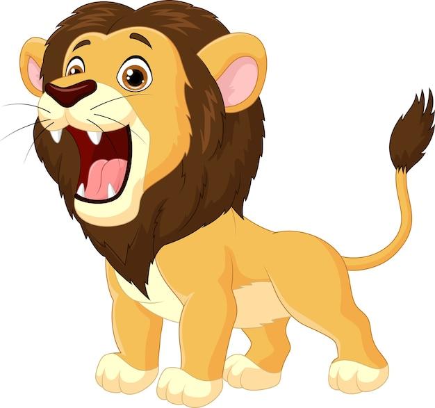 漫画ライオンの轟音