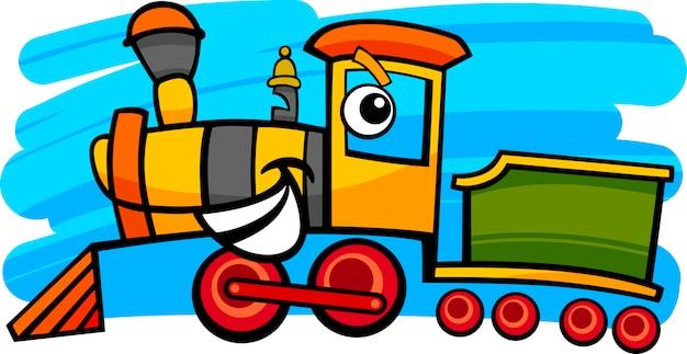 漫画の機関車または列車のキャラクター