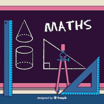 만화 수학 요소 배경