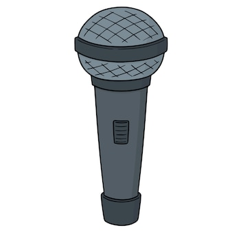 Cartoon microphone