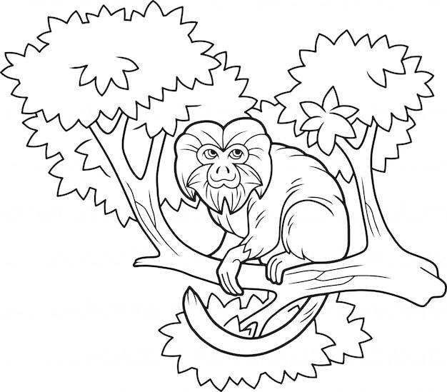 만화 원숭이