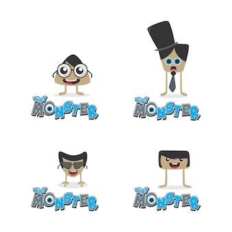 Cartoon monster character