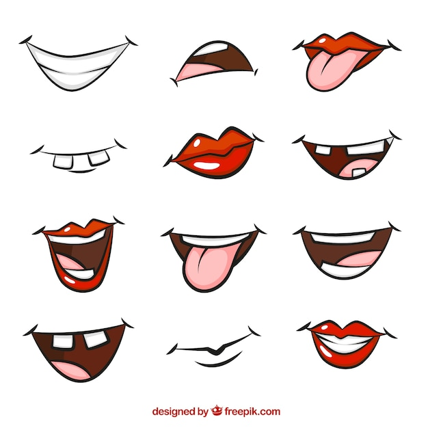 mouth vectors photos and psd files free download rh freepik com laughing mouth cartoon images smile mouth cartoon images