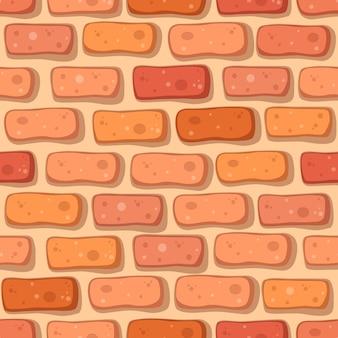 만화 붉은 벽돌 원활한 패턴