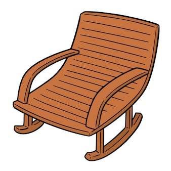 Cartoon rocking chair