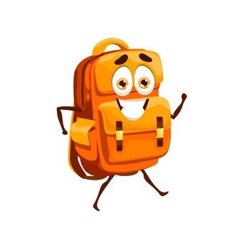 Cartoon school bag, schoolbag mascot character