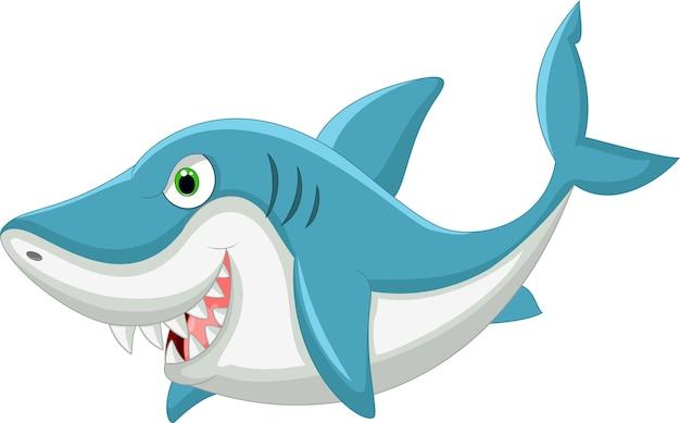 Мультяшная акула