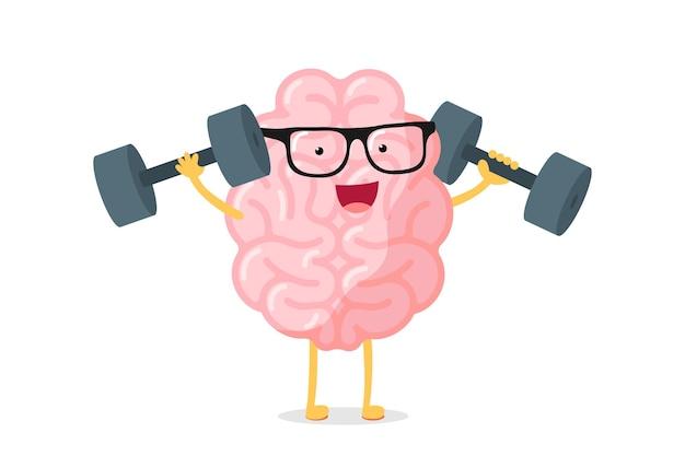 メガネパワーtrと漫画スマート強い人間の脳のキャラクター