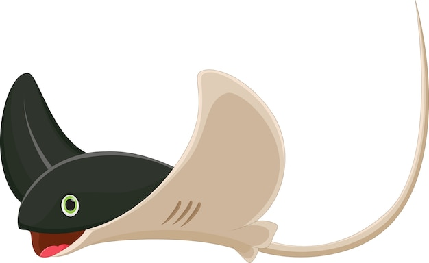 Cartoon stingray