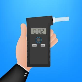 Мультфильм электрошокер. символ защиты. векторная иллюстрация штока.