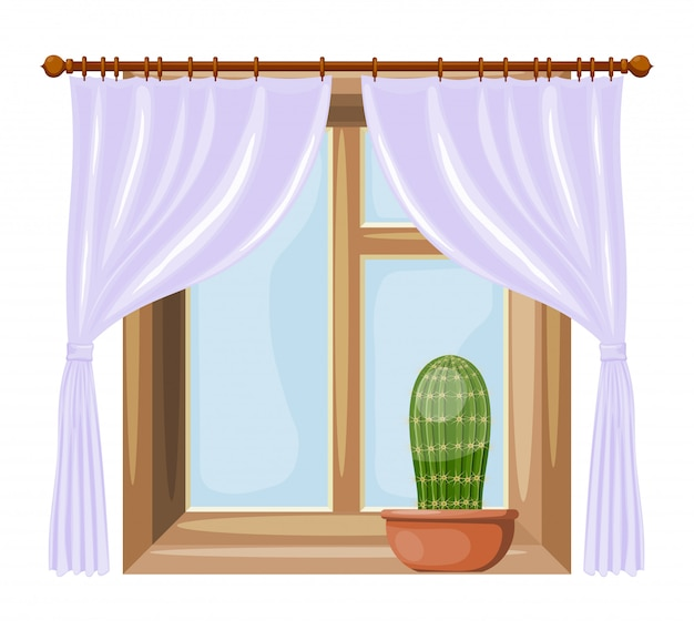 Cartoon style windows