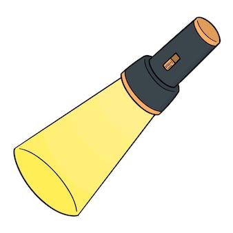 Cartoon torch