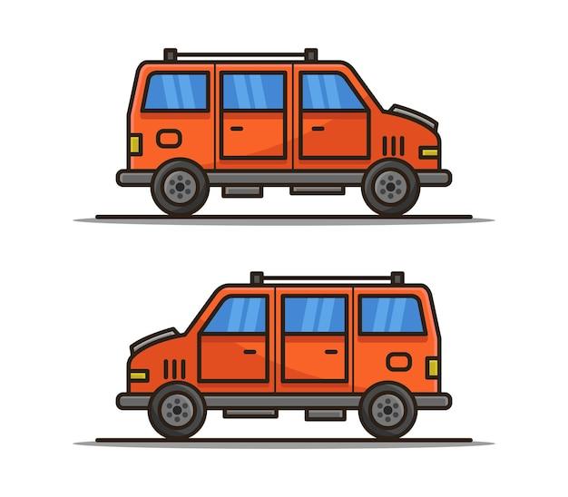 Мультяшный фургон