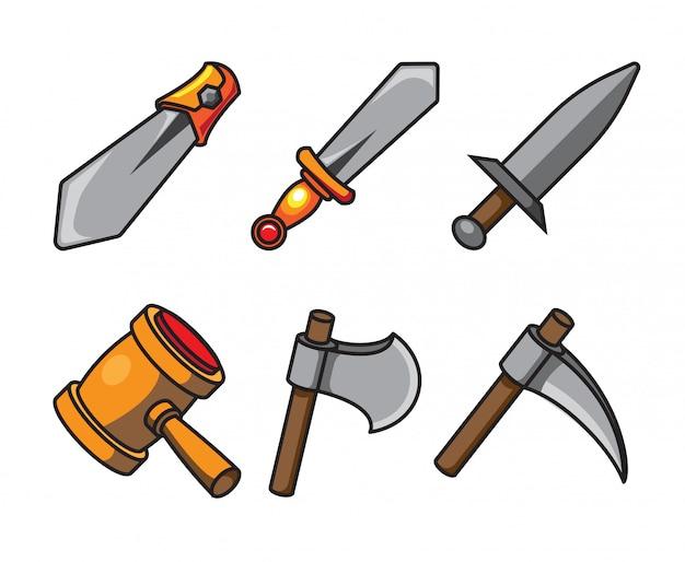 Cartoon weapon
