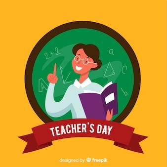 Cartoon world teachers' day event