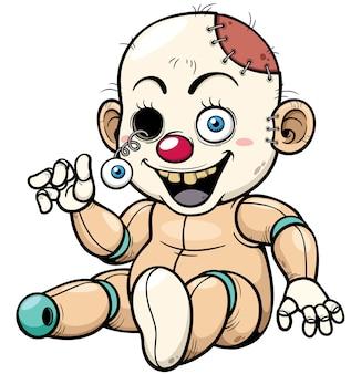 Cartoon zombie toy