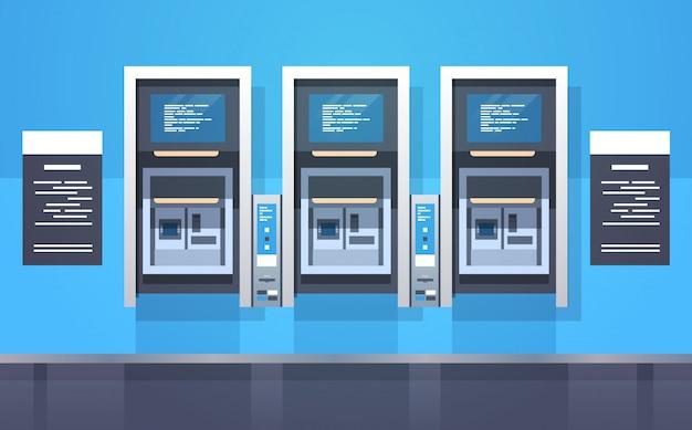 Cash automatic teller machines