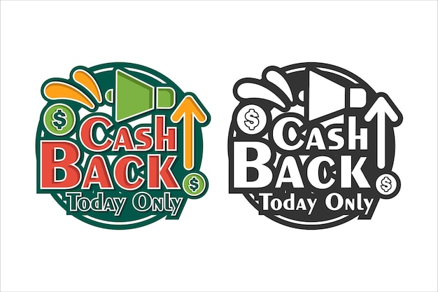 Cash back only today premium design